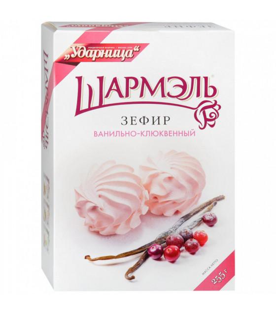 "UDARNITSA Zephyr Marshmallows ""Vanilla-cranberry"" ""Sharmel"" - 255g (best before 25.12.21)"
