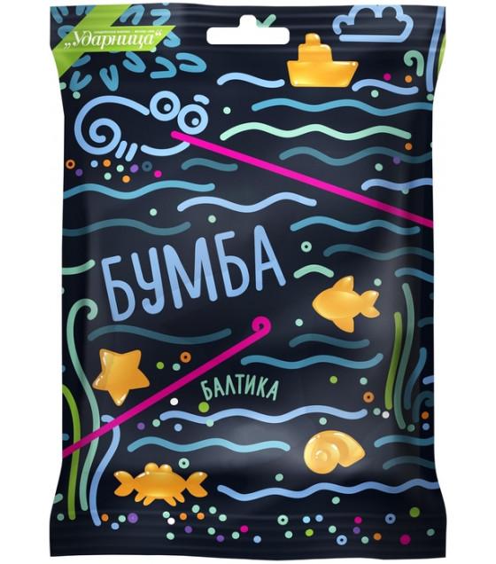 "UDARNITSA Marmelade Chewing ""Baltika"" ""Bumba"" - 108g (best before 25.12.21)"
