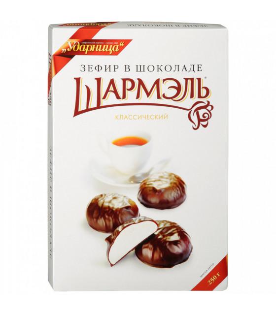 "UDARNITSA Zephyr Chocolate-Coated ""Classic"" ""Sharmel"" - 250g (best before 25.12.21)"