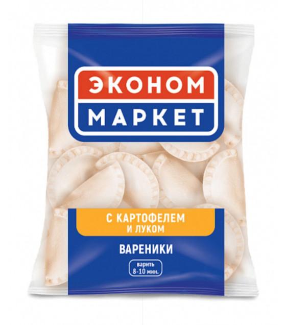 ECONOM MARKET Dumplings Vareniki filled with Potato and Onion - 400g (best before 04.02.22)