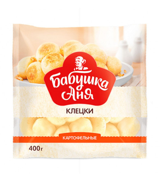 "GRANDMOTHER ANN Potato Balls ""Klecki"" - 400g (best before 03.02.22)"