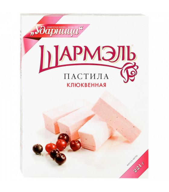 "UDARNITSA Pastila ""Cranberry"" ""Sharmel"" - 221g (best before 25.12.21)"