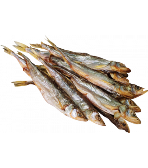 "Dried Smelt Fish ""Korushka"" - 200g (best before 02.03.22)"