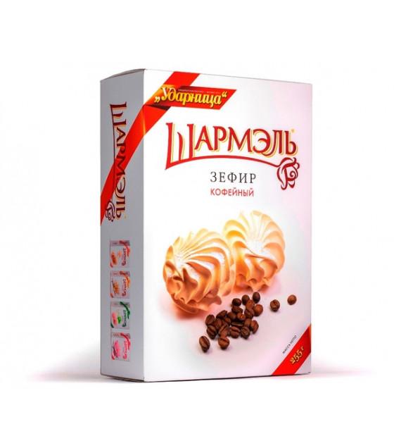 "UDARNITSA Zephyr Marshmallows ""Coffee"" ""Sharmel"" - 255g (best before 25.12.21)"