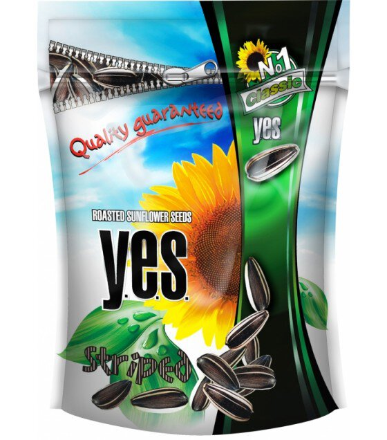 "Sunflower seeds Y.E.S. Roasted 150g ""Granex"" - 150g"