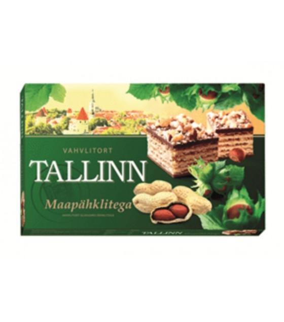 TALLINN Wafer Cake with Peanut - 320g (best before 02.01.22)