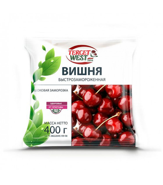 TERCET WEST Frozen Pitted Sour Cherry - 300g (best before 02.10.22)
