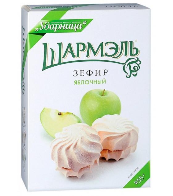 """UDARNITSA Zephyr Marshmallows """"Apple"""" """"Sharmel"""" - 255g (best before 25.12.21)"""