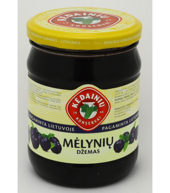 "Blueberry Jam ""Kedainiu"" - 540g (exp. 17.03.20)"