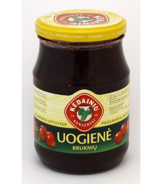 """Lingonberry preserve """"Kedainiu"""" - 430g 越桔果醬 - 430g (exp. 14.01.20)"""