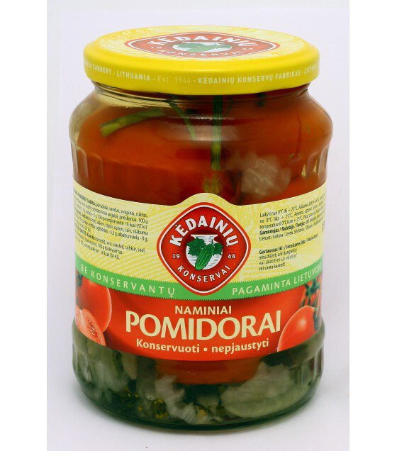 KEDAINIU Pickled Red Tomatoes - 680g/340g (best before 02.09.23)