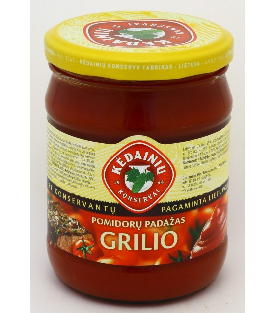 Grill tomato sauce - 0.5 kg