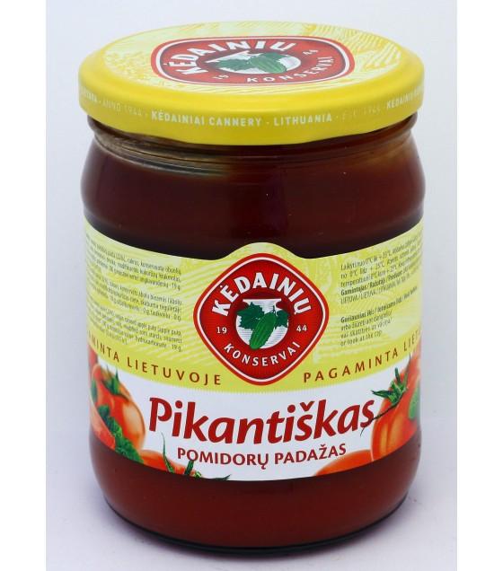 """KEDAINIU Tomato sauce """"Piquant"""" - 0.5 kg."""