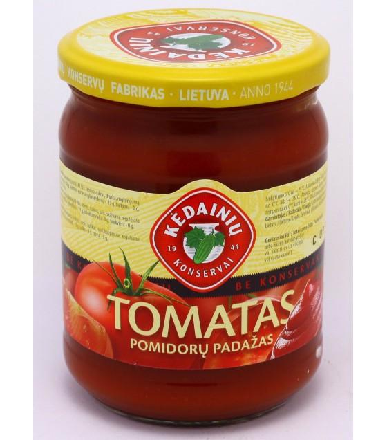 """Tomato sauce """"Tomatas"""" - 0.5 kg."""