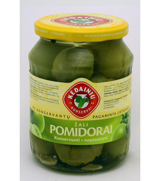 Pickled green tomatoes - 0.72 kg
