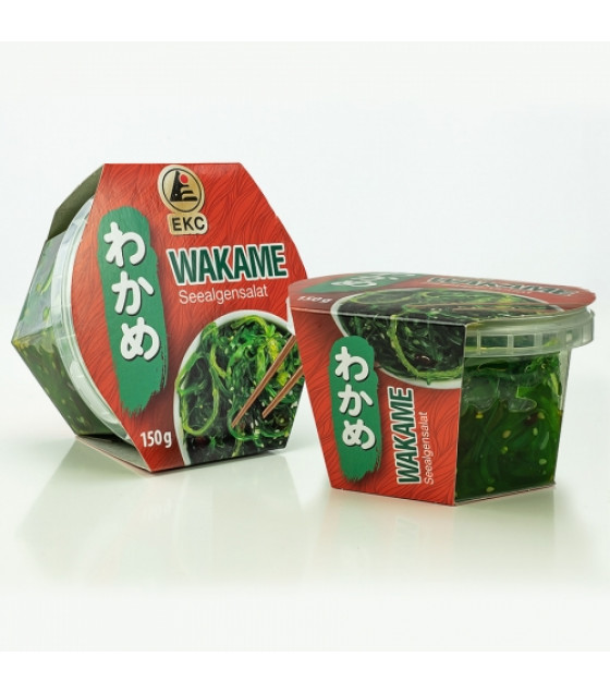 EKC Wakame Seaweed Salad - 150g (best before 03.09.21)