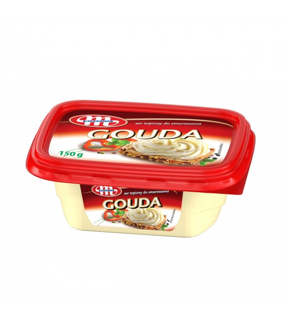 Mlekovita GOUDA Processed Cheese Spread - 150g (exp. 21.05.19)