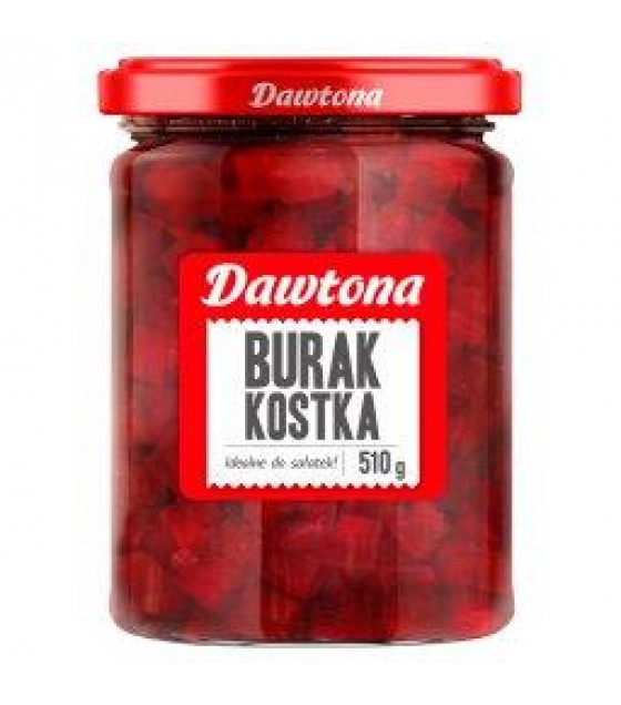 DAWTONA Beetroot Cubes (Burak Kostka) - 510g (best before 05.11.22)