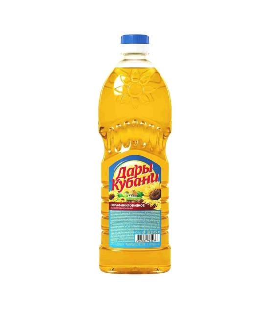 """Sunflower Oil Not Refined """"Dary Kubani"""" - 0.65L (best before 20.12.21)"""