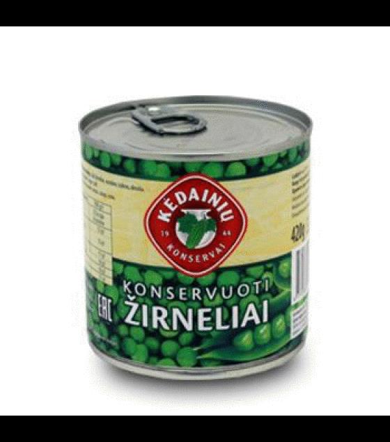 "Canned green peas ""Kedainiu"" - 270g (420g net) (exp. 01.06.21)"