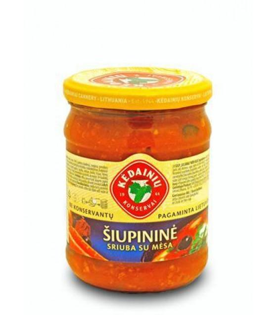 """Kedainiu Soup """"Solianka"""" with meat - 480g (exp. 12.12.21)"""