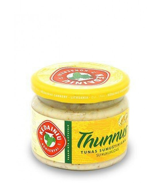 KEDAINIU Tuna for Sandwiches with Sweetcorn - 280g (exp. 01.02.22)