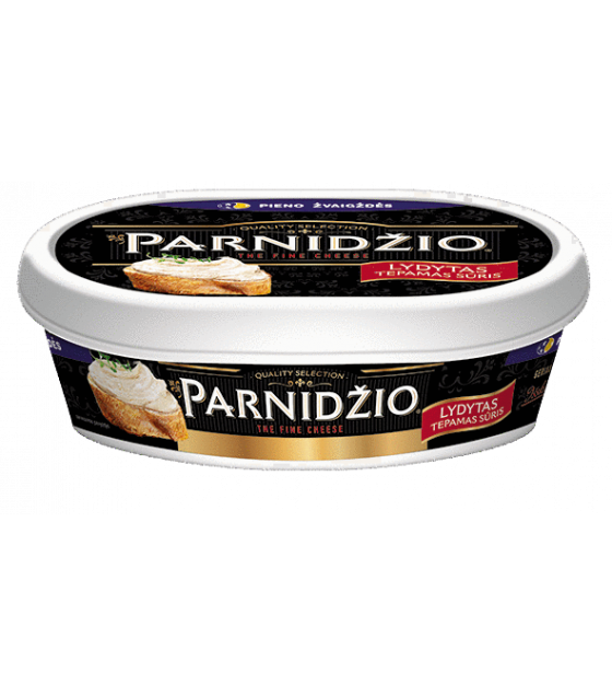 """Processed Melted Cheese Spread """"Parnidzio"""" 50% - 135 gr. (exp. 27.03.18)"""