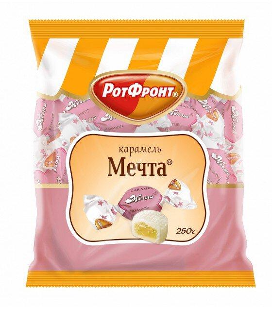 "Caramel with fondant filling ""Mechta"" - 250 g. (exp. 04.03.19)"