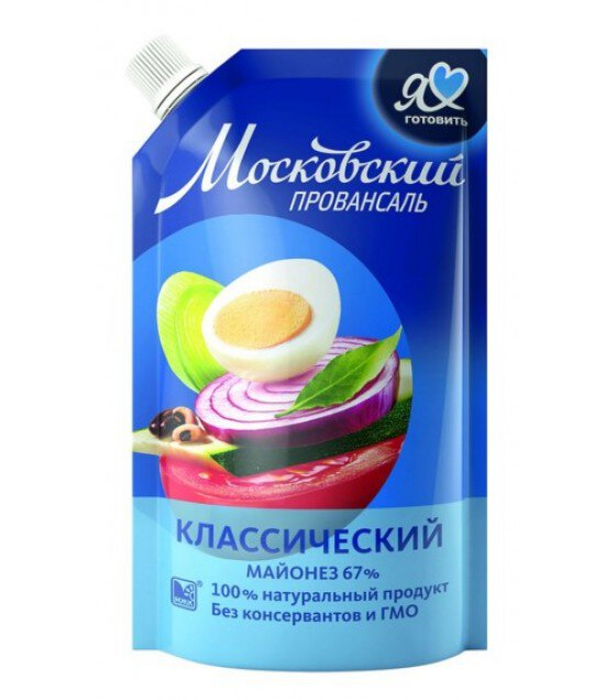 "Mayonnaise Classic ""Moscow Provansal"" - 420g (exp. 14.03.19)"