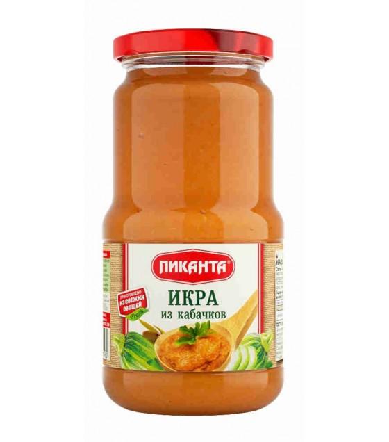 """""""Pikanta"""" Zucchini Spread Paste - 520 gr. (exp 09.07.21)"""