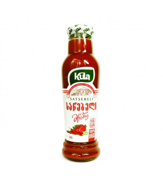 KULA Satsebeli Georgian PIQUANT Tomato Sauce - 345g (best before 23.02.23)
