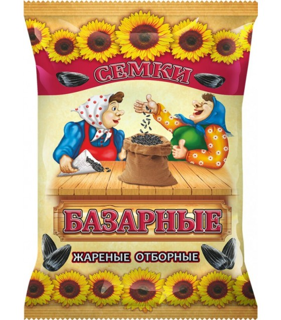"GRANEX Sunflower Seeds ""Bazarnye"" Roasted - 100g (exp. 30.04.20)"