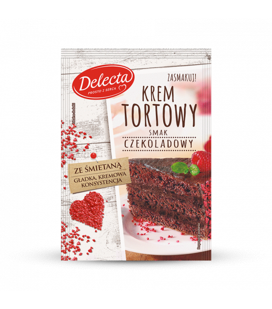 BAKALLAND Chocolate Cake Filling (Krem Tortowy) - 122g (best before 30.05.21)