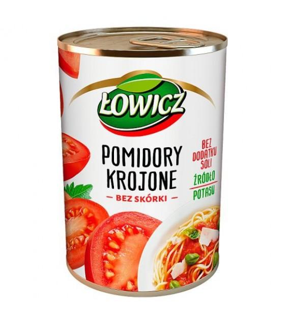 LOWICZ Chopped Peeled Tomatoes - 400g (exp. 01.08.22)