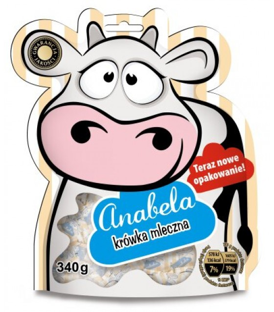 Candies Anabela Krowka Milk - 340g (exp. 25.07.20)