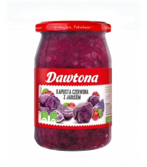 DAWTONA Red Cabbage with Apple - 680g (exp. 20.02.2020)