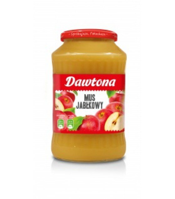 DAWTONA Apple Mousse - 720g (exp. 20.02.20)