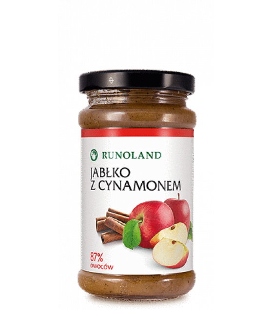 RUNOLAND Apples with cinnamon - 220g (best before 30.11.21)