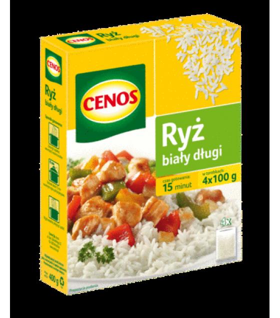 CENOS Long Grain White Rice (4 x 100g) - 400g (exp. 01.04.20)