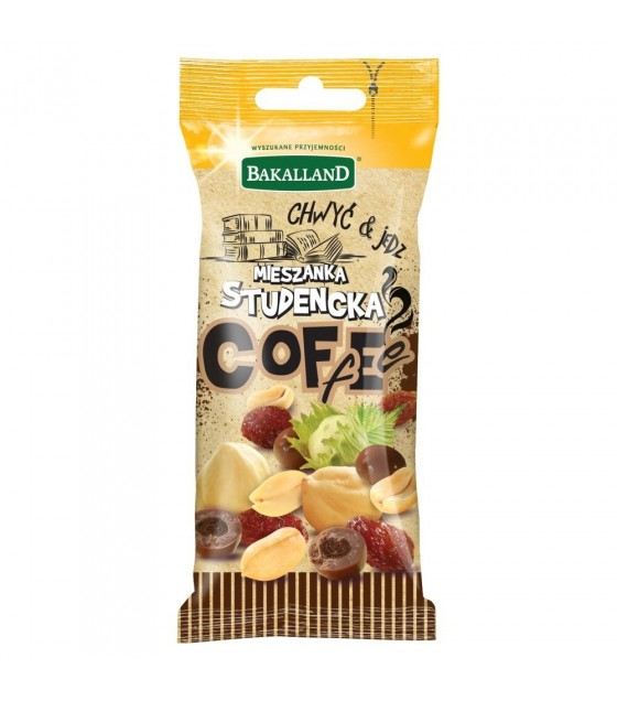 BAKALLAND Snack Student Mix With Coffee Beans - 45g (exp. 31.05.20)