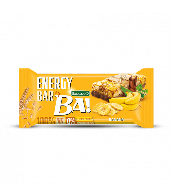 "BAKALLAND Energy Bar ""BA!"" Banana - 40g (exp. 30.09.20)"
