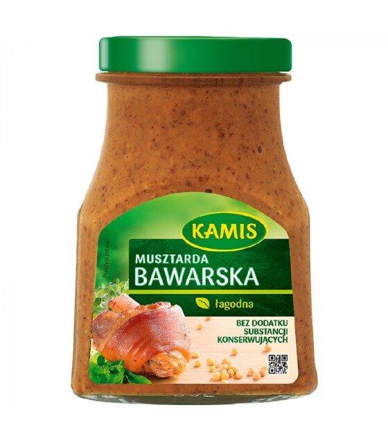 KAMIS Bavarian Mustard - 185g (exp. 01.11.19)