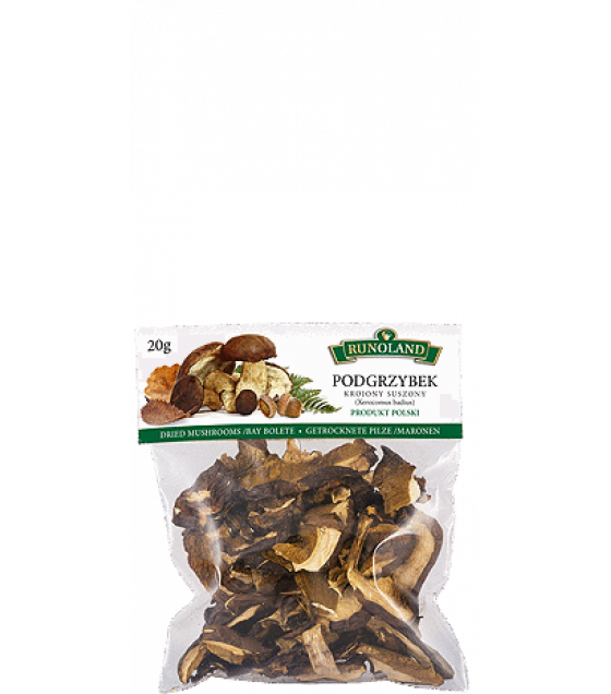 RUNOLAND Bay Bolete Dried Wild Mushrooms - 20g (exp. 10.01.21)