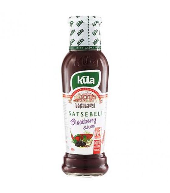KULA Satsebeli Georgian Blackberry Sauce - 360g (best before 13.10.21)