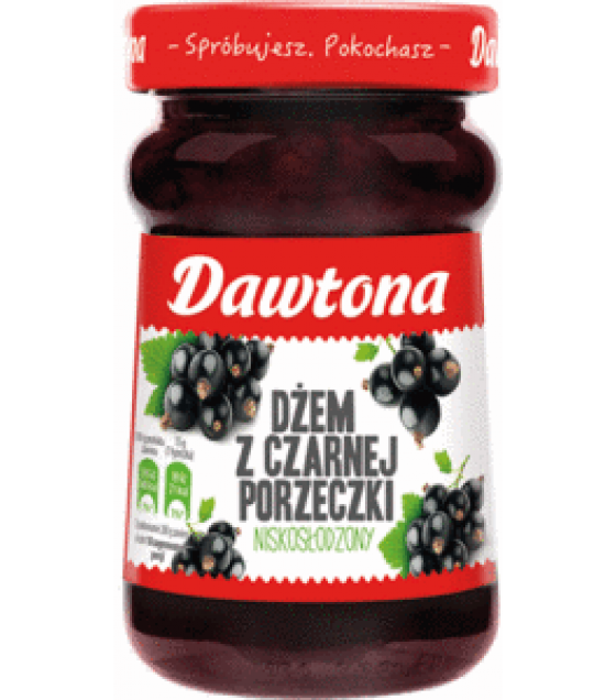 DAWTONA Black Currant Jam - 280g (exp. 20.02.20)