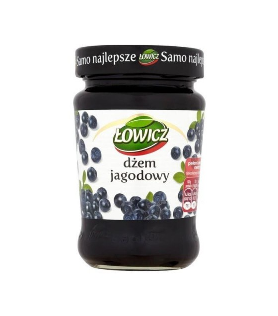 LOWICZ Blueberry Jam - 280g (exp. 01.11.20)