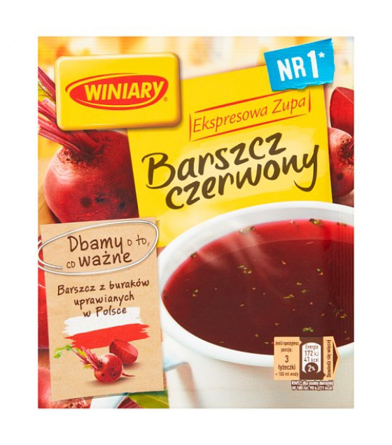 WINIARY Red Beetroot Soup - 60g (best before 01.04.21)