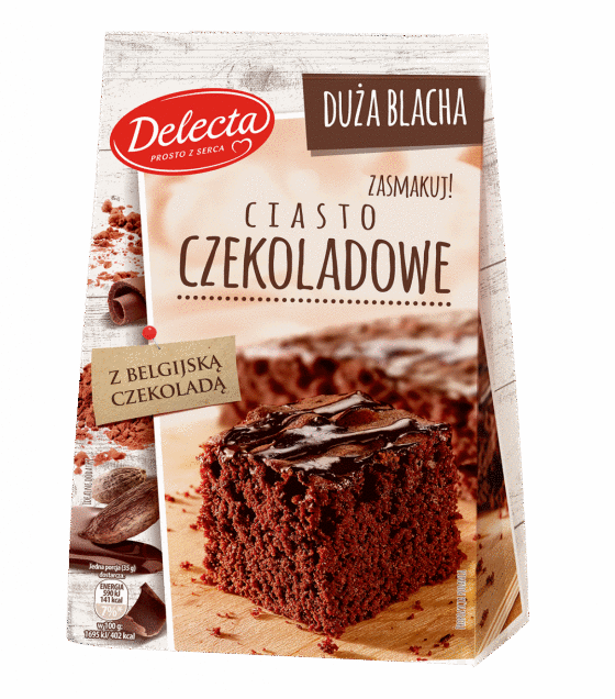 "Baking Mix ""Delecta"" Chocolate Cake  - 670g (exp. 10.01.20)"