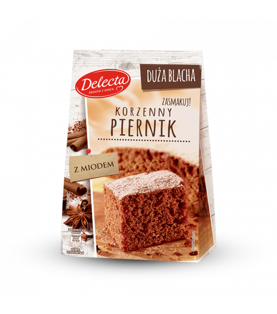 BAKALLAND Gingerbread Baking Mix (Korzenny Piernik) - 680g (best before 30.08.21)