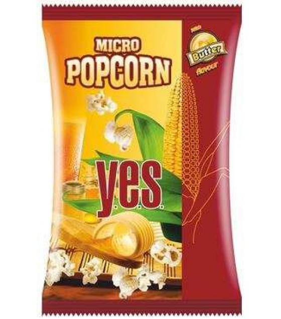 GRANEX Popcorn Y.E.S. with Butter Flavour - 90g (exp. 30.04.20)